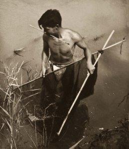 EAsepia_greyaB&W-Jap Fisherman-1948